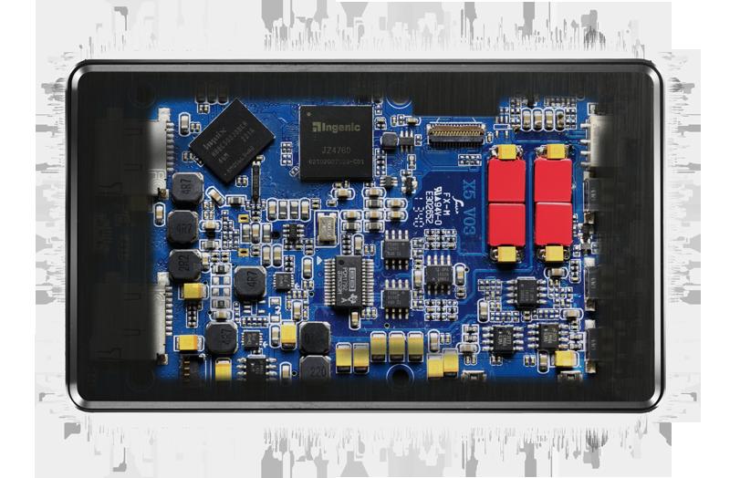 Le circuit interne du FiiO X5