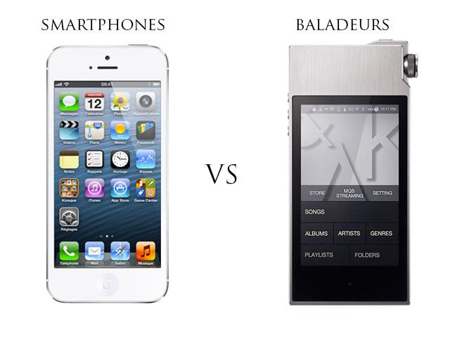 Les smartphones ont fait énormément de progrès au niveau du son, mais les baladeurs restent meilleurs.